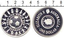 Монета Австралия 1 доллар 25 центов Серебро 2006