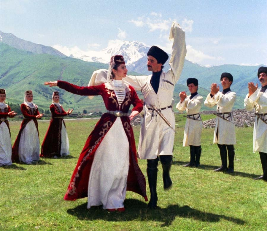 Старинный кавказский обычай секс